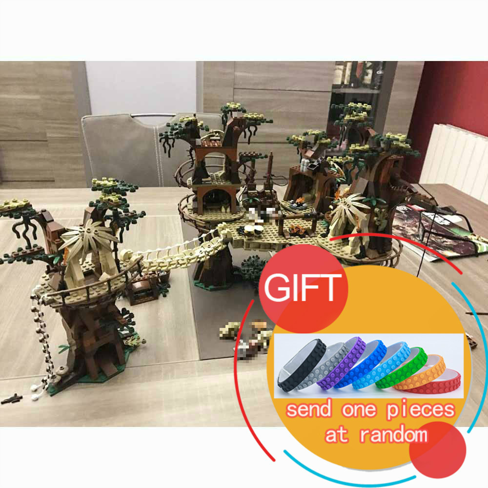 05047 1990pcs Star Classic Series Wars The Ewok Village war set Model Building Blocks Educational Compatible 10236 Toys lepin rollercoasters the war of the worlds