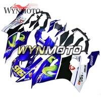 Complete Fairings Kit For Yamaha R6 2017 2018 Year Injection ABS Plastics Full Panels Motorbike New Hull White Blue New Hulls