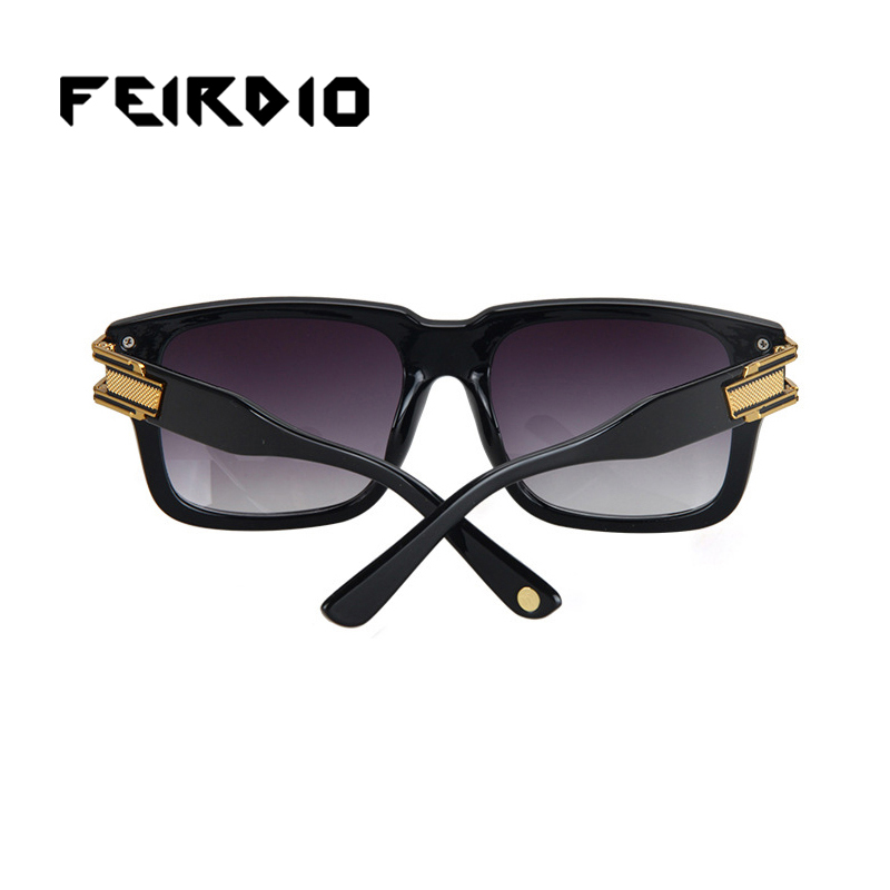 56ba63f5823ef Feirdio New Top Unisex Sunglasses Plastic Glasses Leg Frame Eyeglass Vintage  Colorful Oculos De Anti-Uv400 Night Vision Desert