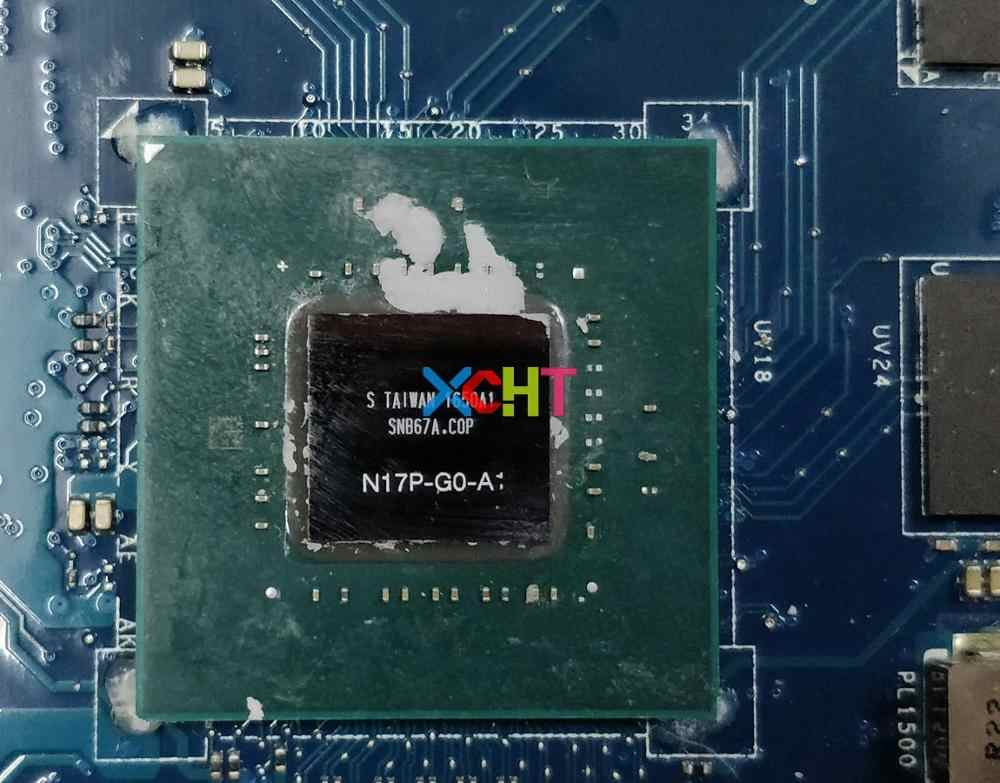 for Dell XPS 15 9560 YH90J 0YH90J CN-0YH90J w i7-7700HQ cpu w 1050/4GB GPU  LA-E331P Laptop Motherboard Mainboard Tested