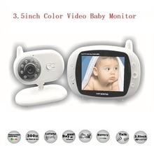 3.5 inch baba electronics video baby monitor 2.4 GHz Temperature monitor Lullabies IR Night vision Intercom video fetal doppler