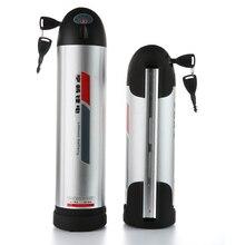 Estilo de la Botella de agua bicicleta de la batería 36 v 12ah batería y cargador