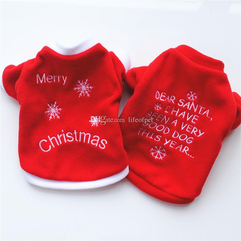 Christmas Pet Dog Clothes Shirt Dog Pajamas Puppy Outfits for Dog Costume Halloween Yorkshire Chihuahua Clothes 10pcs/Lot