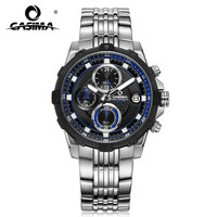 CASIMA Fashion Luxury Brand Watches Men Fashion Casual Charm Chronograph Cool Sport Mens Quartz Wrist Watch