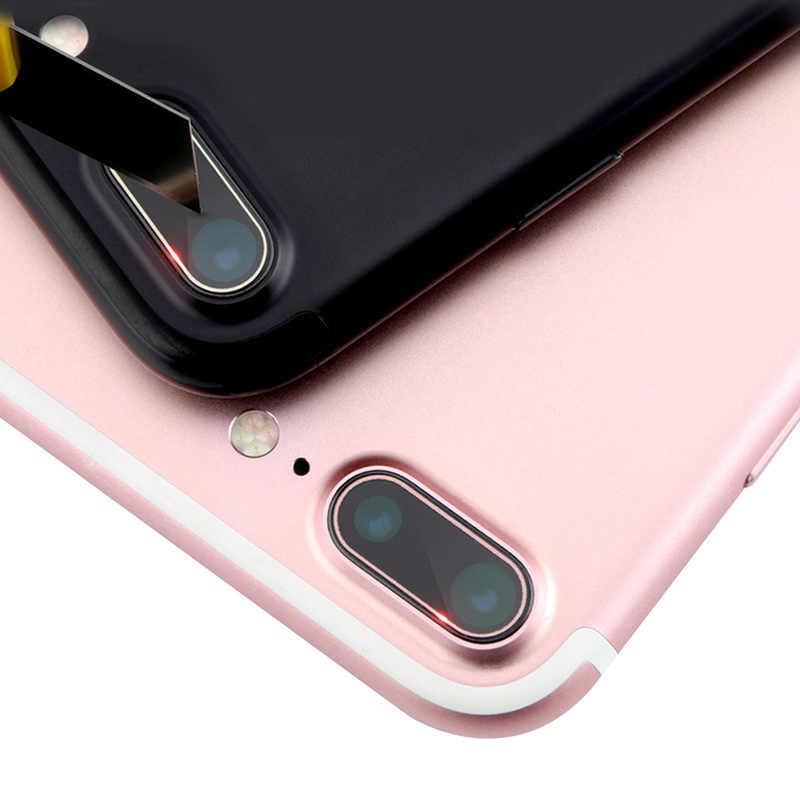 עבור IPhone X מצלמה עדשת מזג זכוכית מגן עבור IPhone7 8 בתוספת זכוכית מצלמה עדשת HD צבעוני Dustproof מגן סרט