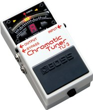 Boss Audio TU-3 Chromatic Guitar und Bass Tuner Pedal mit Bypass