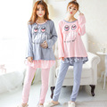 Maternity Cute Leisurewear Sleepwear Nursing Tops Maternity Breast Feeding Clothes  Breastfeeding Sleepwear Nursing Pajamas Set