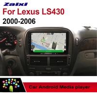 ZaiXi Android Car Multimedia GPS Audio Radio Stereo For Lexus LS LS430 2000~2016 Original Style Navigation NAVI BT WIFI HD