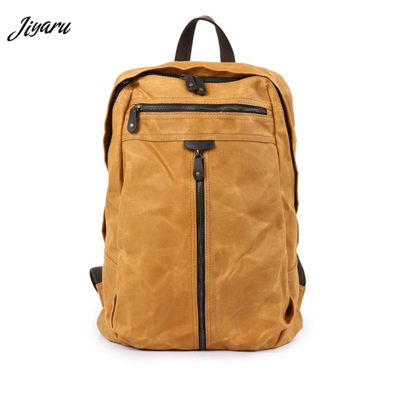цена на Men Travel Backpacks Canvas Mochila Waterproof Laptop Backpacks Fashion School Bags for Teenager Girls Men Backpack Schoolbag