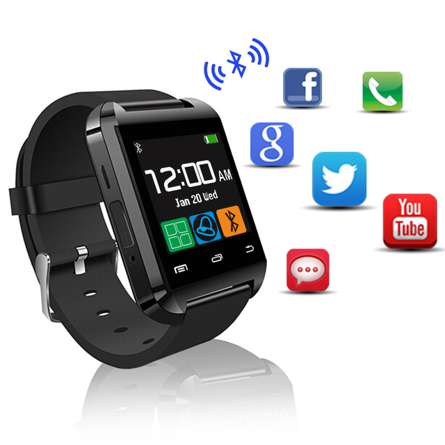 2016 Most Popular Bluetooth Smart Watch U8 For Iphone Samsung Lg Sony Apple