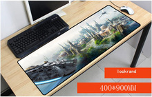 Yuzuoan Star Wars movies X Wing Keyboard Gaming MousePads Size for 40x90CM Speed Version For CSGO DOTA LOL Mousepads