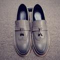 Marca de lujo para hombre del dedo del pie puntiagudo zapatos de vestir famosos mocasines masculinos caballeros ropa formal ballet pisos zapatos hombre zapatos oxford para hombres