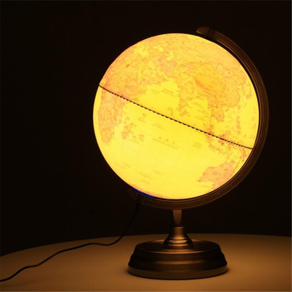 LED Retro Terrestrial Globe Diameter 32cm Home Office Decoration Lamp Gift for Children кашпо gift n home сирень