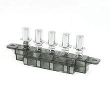 MQ165 3-кирпечей из глины 1-Сброс 1-фиксации 5 клавиши переключения 250VAC 4A для Кухня капюшон