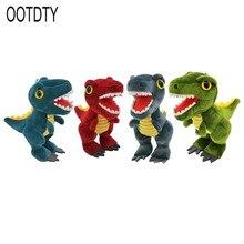 Cute Dinosaur Cartoon Animal Doll Tyrannosaurus Stuffed Plush Toy Gift Backpack Ornament Pendant