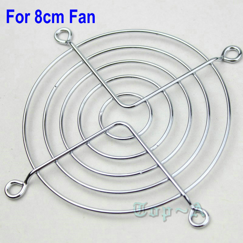 Fan Grille 85mm Silver **NEW**