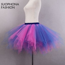 new arrival in stock blue red petticoat crinoline saiote onderrok enaguas jupon mariage petticoats halloween cheap crinoline - Halloween Petticoat