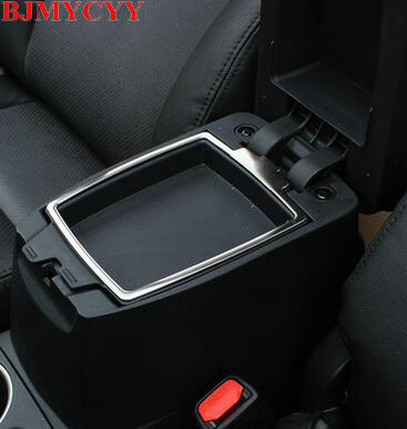BJMYCYY Car styling car central armrest box decorative light for Toyota Corolla 2014 auto accessories