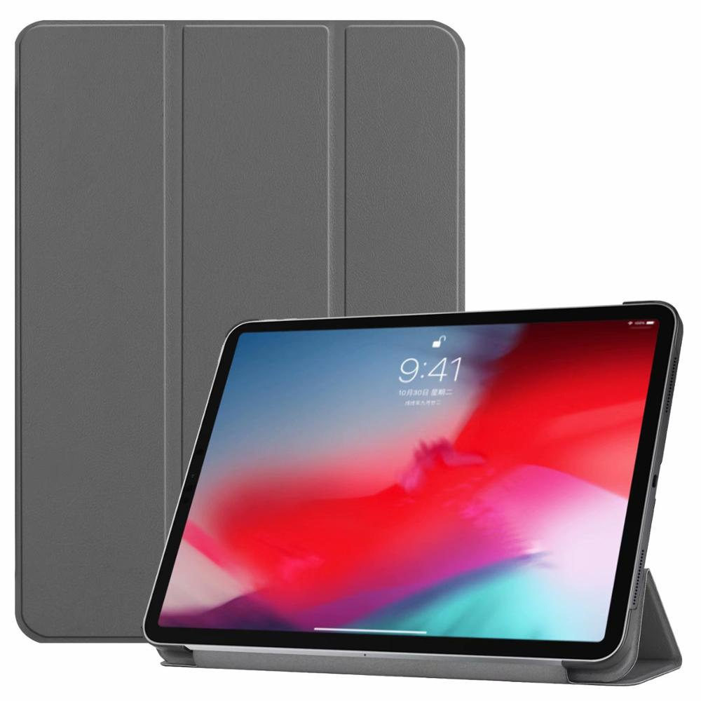 Gray iPad Pro3 11 2018 smart case with different patterns