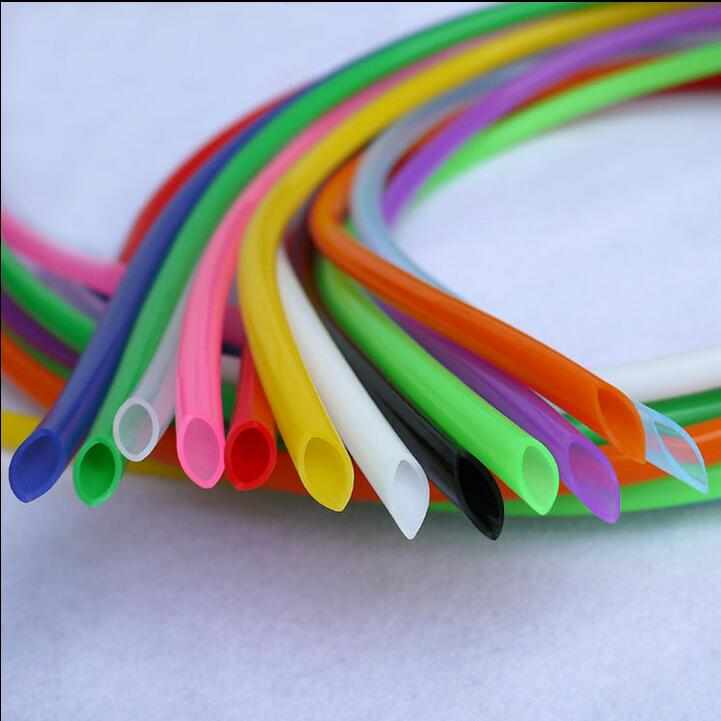 ID: 2mm *OD: 4mm food grade tasteless colorful Silicone Tube Hose Pipe 2x4 10M/1LOT