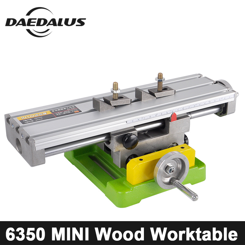 CNC Mini Drilling Bench Drill Working Table Multifunctional Vise X Y-axis Adjustment Coordinate Table For Engraving Mill Machine