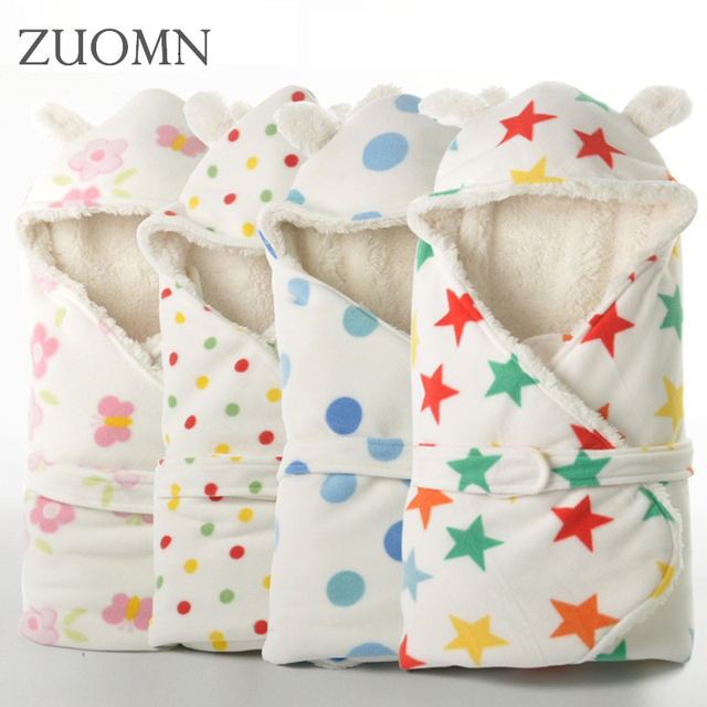 02bd2ba4d Winter Baby Swaddle Wrap BabySwaddling Blankets Newborn Infant Towel ...