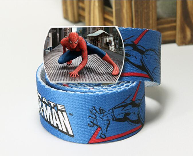 New kids anime spiderman cinture personaggio dei cartoni animati per