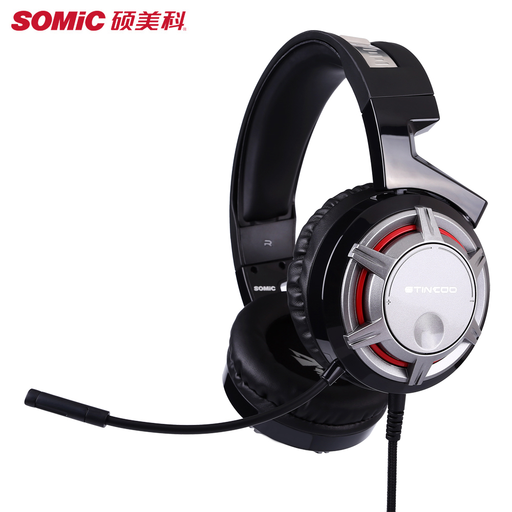 SOMIC G926s Gamer Headphone 3.5mm Stereo Gaming Headset For Computer PS4 PSP PC Laptop Big Earphones With Microphone Earbuds somic g909 wired headphones usb gaming headset for computer stereo headphone with microphone for computer pc