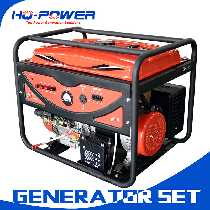 China made low price 7.5 kva petrol generator price in india market