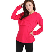 O кормления майка твердые шеи беременных топы уход длинным рукавом одежда