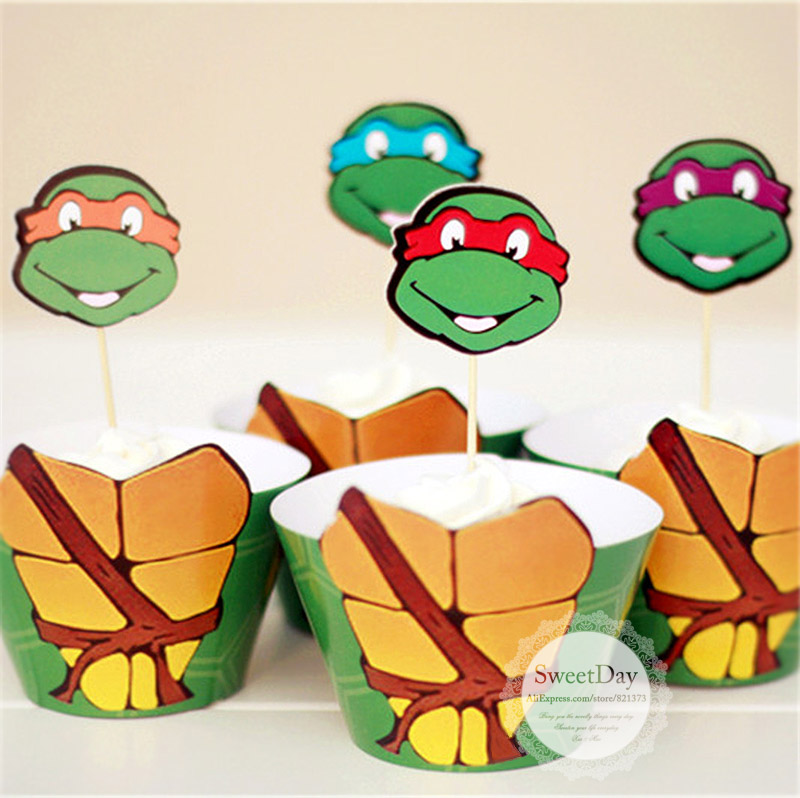 Cake Decorating Teenage Mutant Ninja Turtles