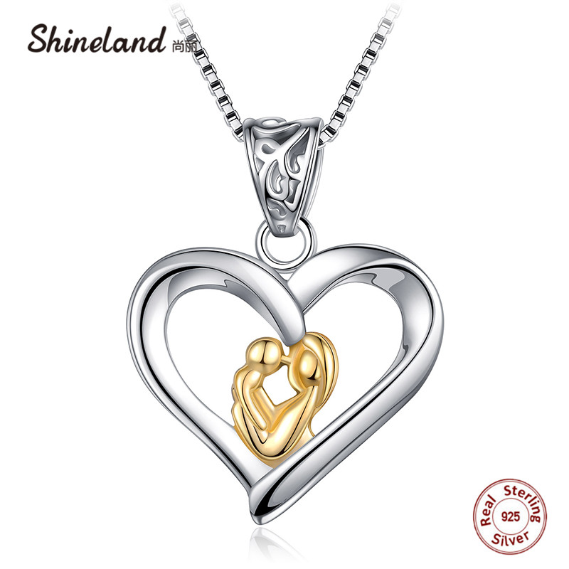 Jewellery & Watches Considerate Womens Necklace Costume Jewelry Sterling Silver 925 Colar Name Birth Stone Chain Pendant Baby Feet Necklaces For New Mom Bijoux