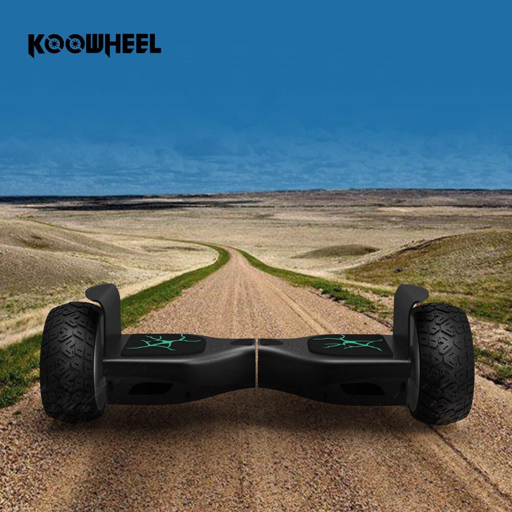 Koowheel Tout-Terrain 8.5 Hoverboard Auto Équilibre Scooter Hover Bord Électrique Scooter Route Difficile Condition K7