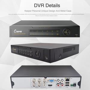 Image 5 - KEEPER 4 Channel 1080P AHD Full HD 5 in 1 Hybrid DVR Surveillance Video Recorder Support TVI CVI AHD CVBS IP Camera 4
