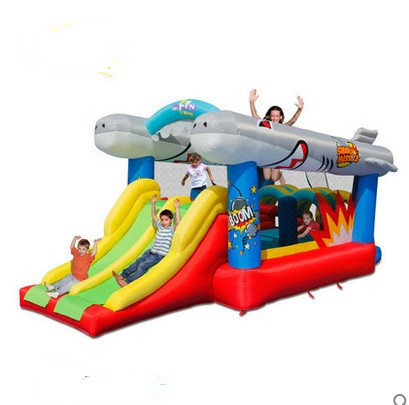 Free shipping Child inflatable indoor playground trampoline for slide trampoline indoor