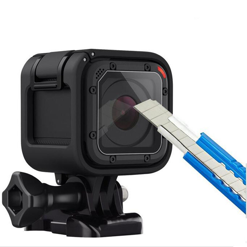 Tempered Glass Protector Cover Case For GoPro Go Pro Hero 4/5 Hero4 Hero5 Session Camera Lens Screen Ultra Clear Protective Film