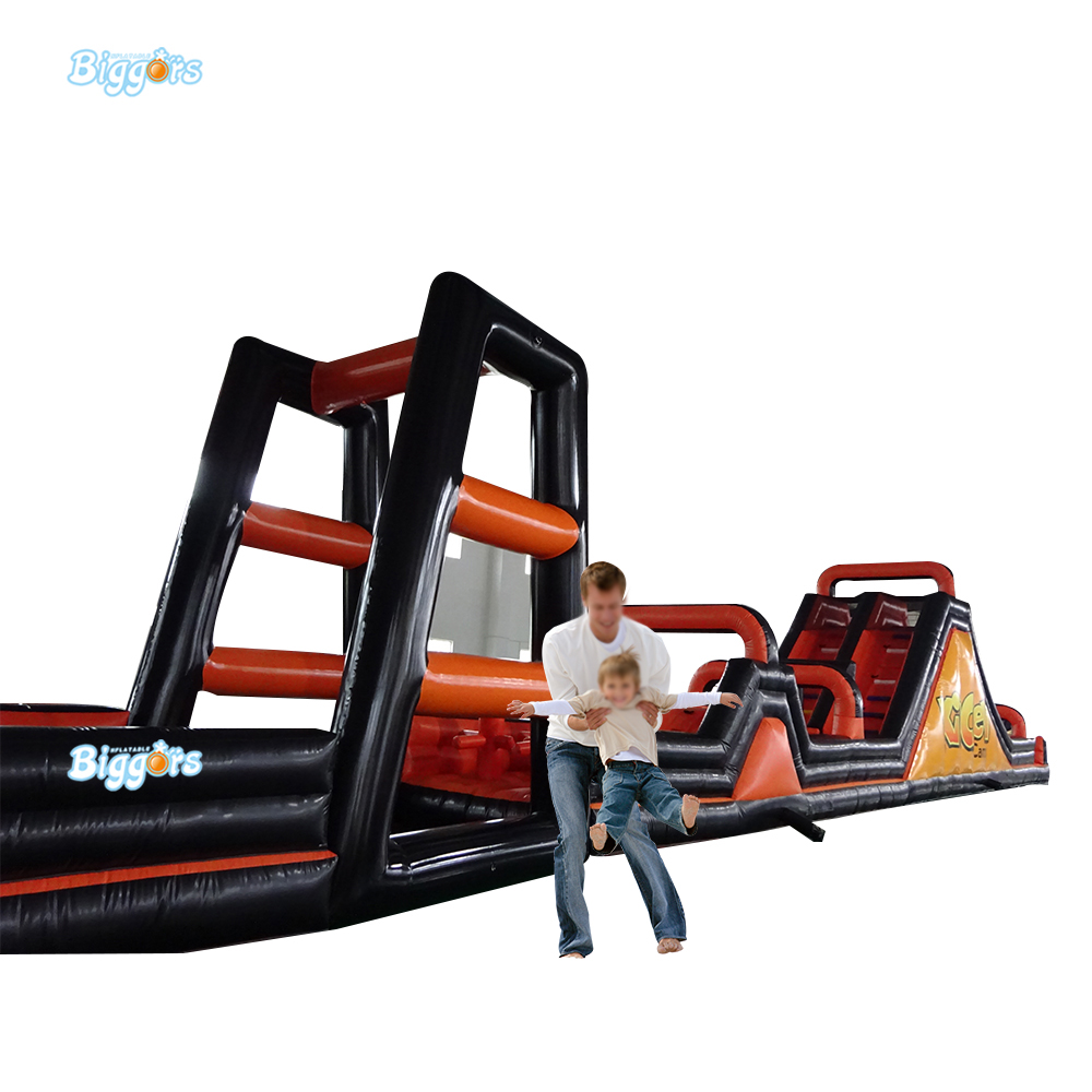Inflatable Obstacle Course Funny Equipment Outdoor Game with A form