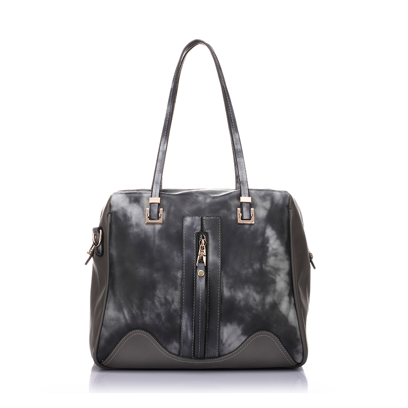 ФОТО bags Brand Design Women Contrast Color Shoulder Bag High Quality Tote Bag Lady Boston Messenger Bag