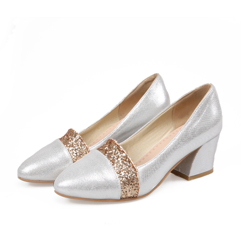 Online Get Cheap Silver Glitter Pumps -Aliexpress.com | Alibaba Group