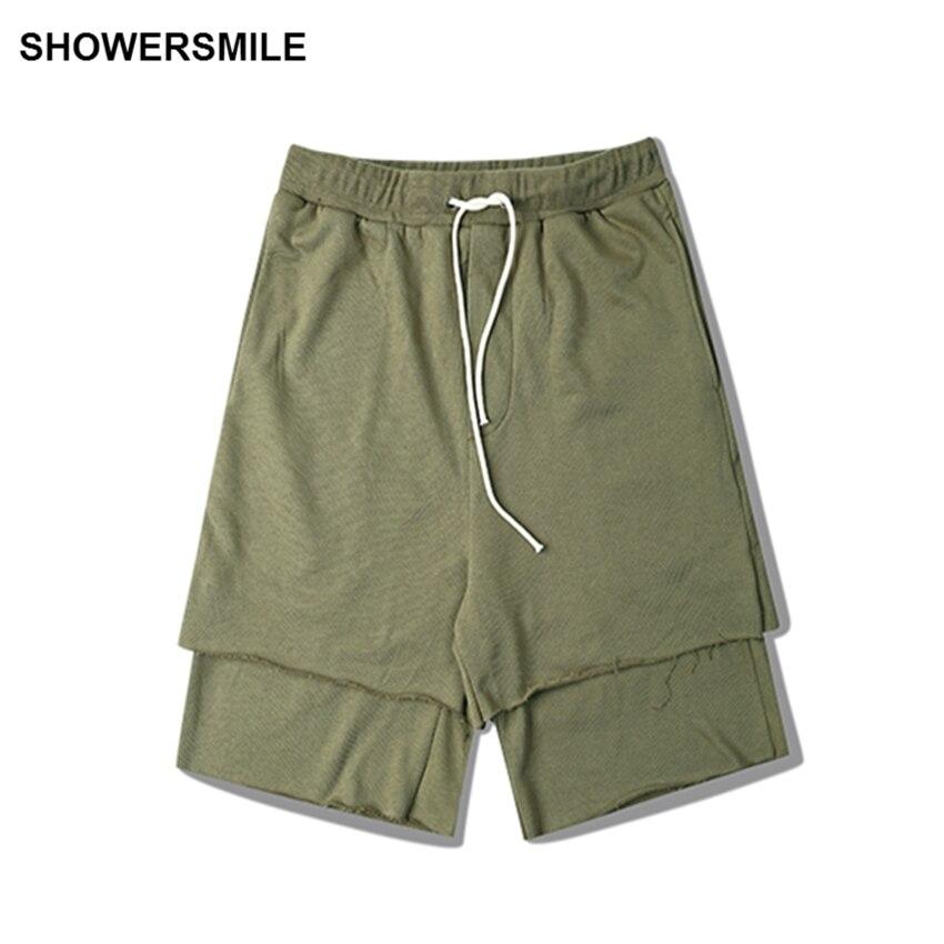 Mens Elastic Waist Shorts Cotton Promotion-Shop for Promotional ...