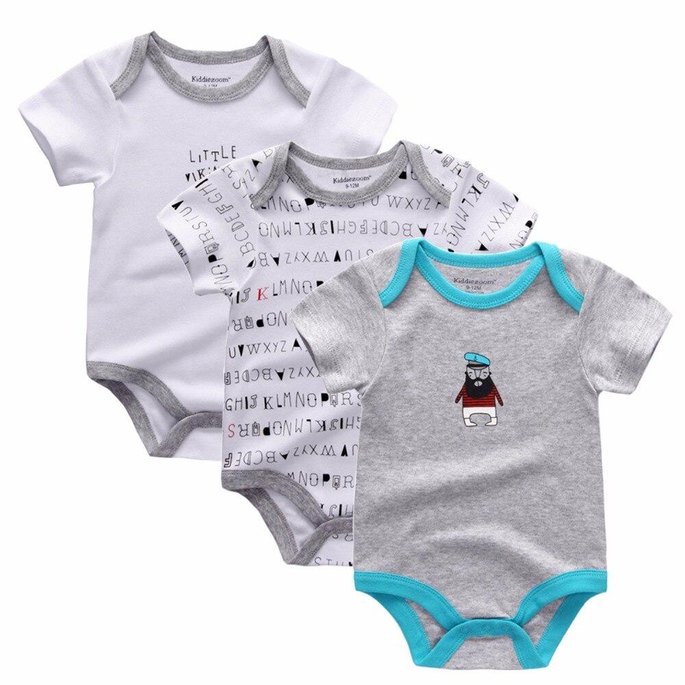 3pcs Lot Newborn Girl Boy Baby Clothes High Quality Cute