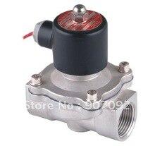 1 »Вода Электромагнитные Клапаны С Железной Крышки Катушки Нержавеющей Воды Клапан 2S250-25 Bsp1» внутренняя Резьба