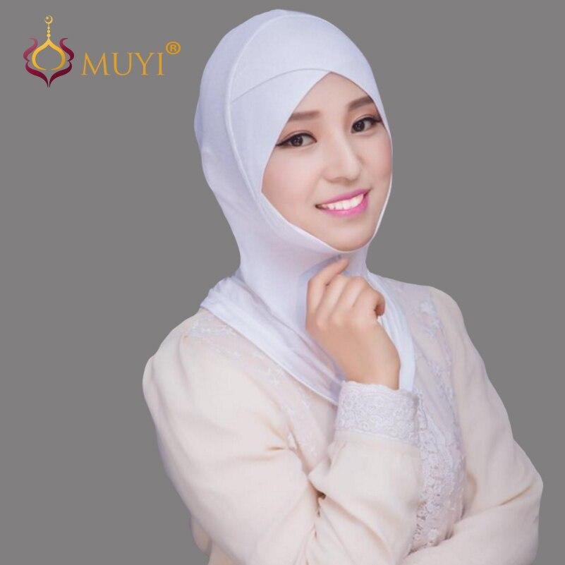 Muslim Women Hijabs Ninja Underscarf Hijab Cap Islamic Bandas