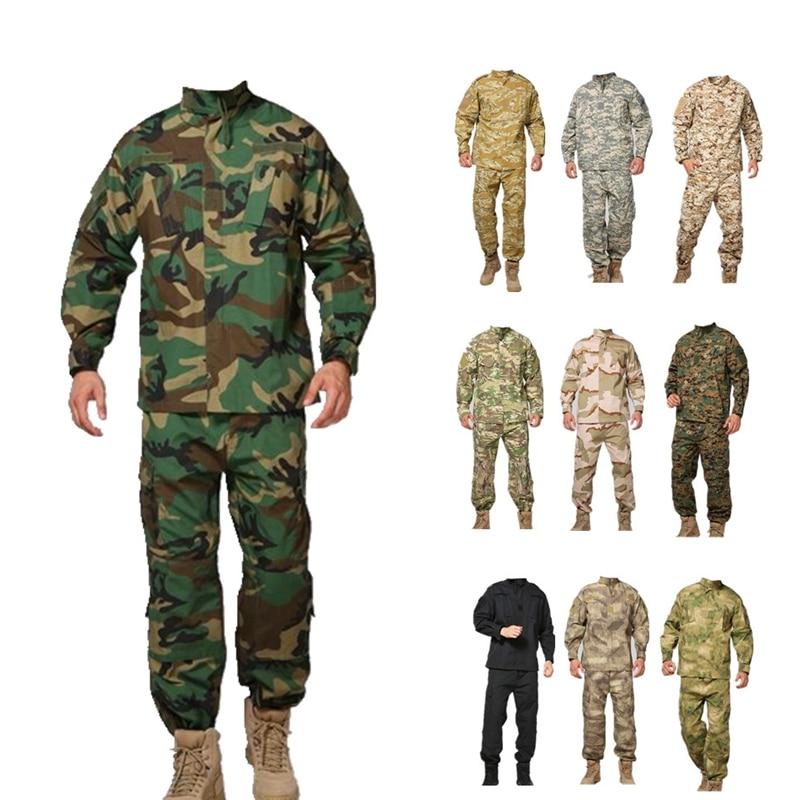 Hosen Uniformen Us Tarnung Uniform Großhandel Military Army Uniformen Wasserdicht StoßFest Und Antimagnetisch Kenntnisreich Tactical Hemd