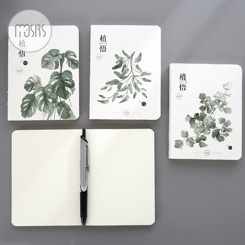 Fashion Cute Stationery 64K Blank Pages Pocket Notebook Skets