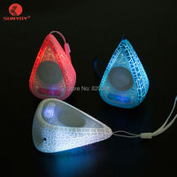 Portable Water Droplets Bluetooth Speaker Mini Outdoor 5 Hour LED Flash Colored Lights Playtime Wireless Bluetooth