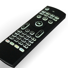 MX3 2.4G Backlit Wireless Six Axis Keyboard Remote Control Mouse IR Learning Full keyboard mouse and TV remote