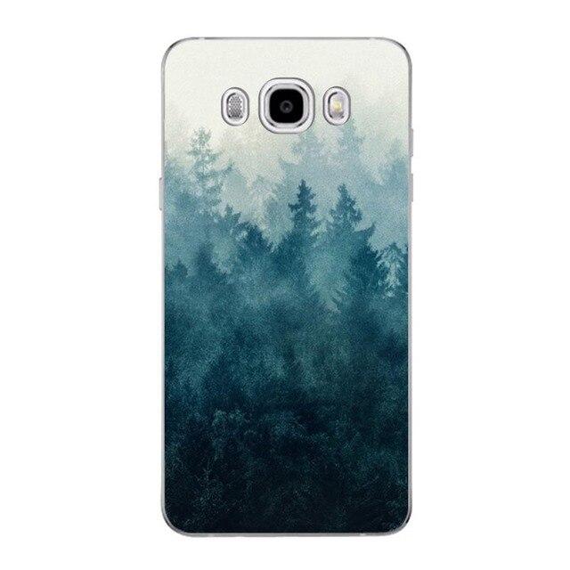 CaseRiver Soft TPU sFOR Samsung Galaxy J5 2016 J510 J510F Case Cover Printed Phone Back Protective sFOR Samsung J5 2016 Case