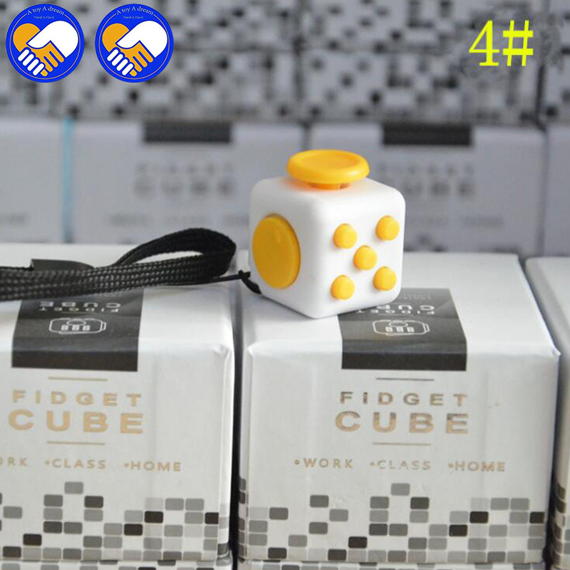 A Toy A Dream 11 Style Fidgeted Stress Cube Toys Original Quality Puzzles Magic Cubes Anti