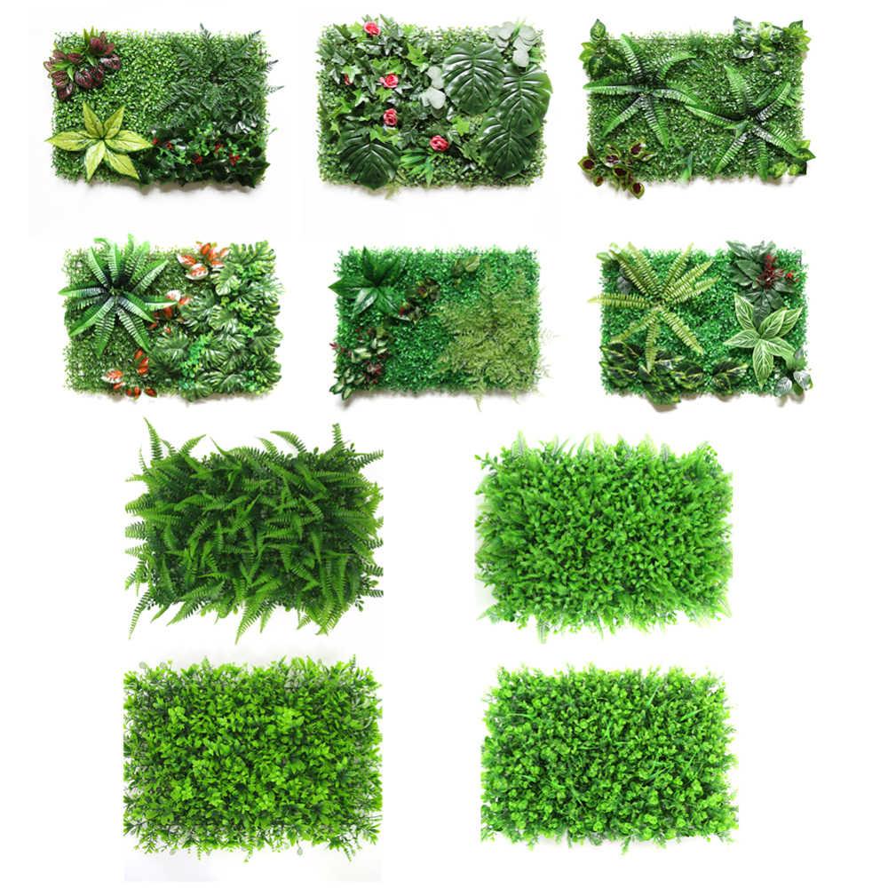 Имитация зеленый газон Искусственный завод Свадебная фоновая стена отеля украшения для дома, сада, двора поставки поддельные газон наивысшего качества